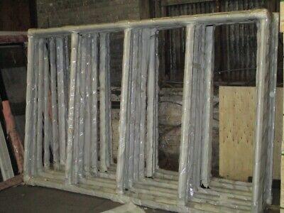 Brand New 4 Glass Door Set W Frame Doors And Shelves For Walk In Cooler