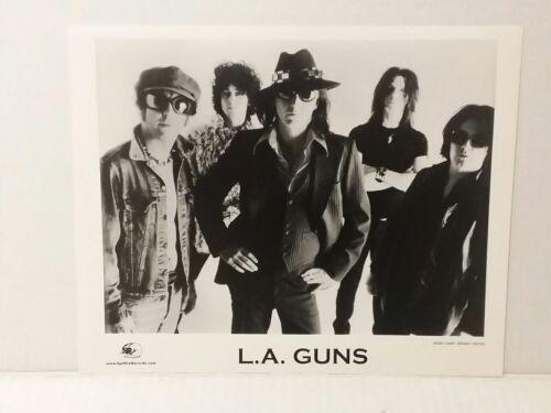 "L.A.GUNS - PROMO PICTURE - RARE - 8"" X 10"" + STICKERS - FREE SHIPPING"