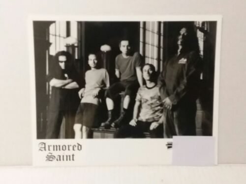 """ARMORED SAINT - PROMO PICTURE - RARE - 8"""" X 10"""" + STICKERS - FREE SHIPPING"""