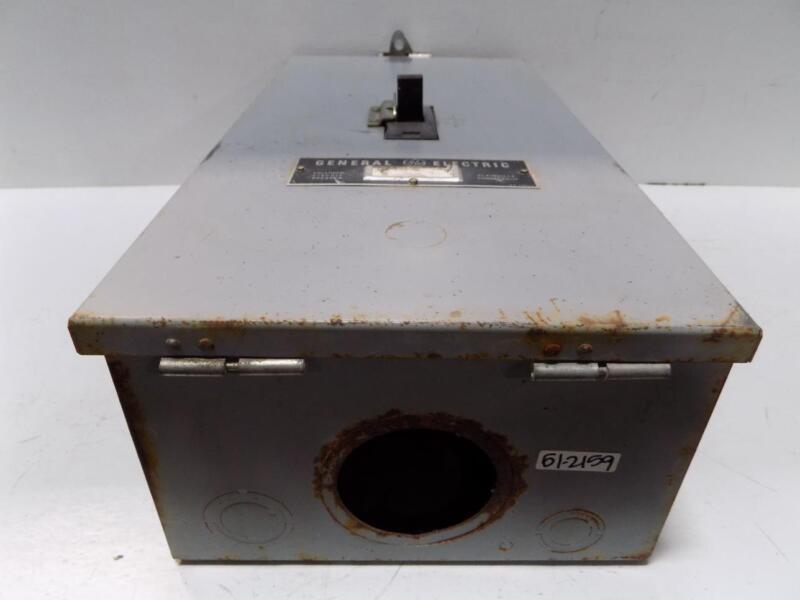 GENERAL ELECTRIC 225A 600V CIRCUIT BREAKER ENCLOSURE TF225F