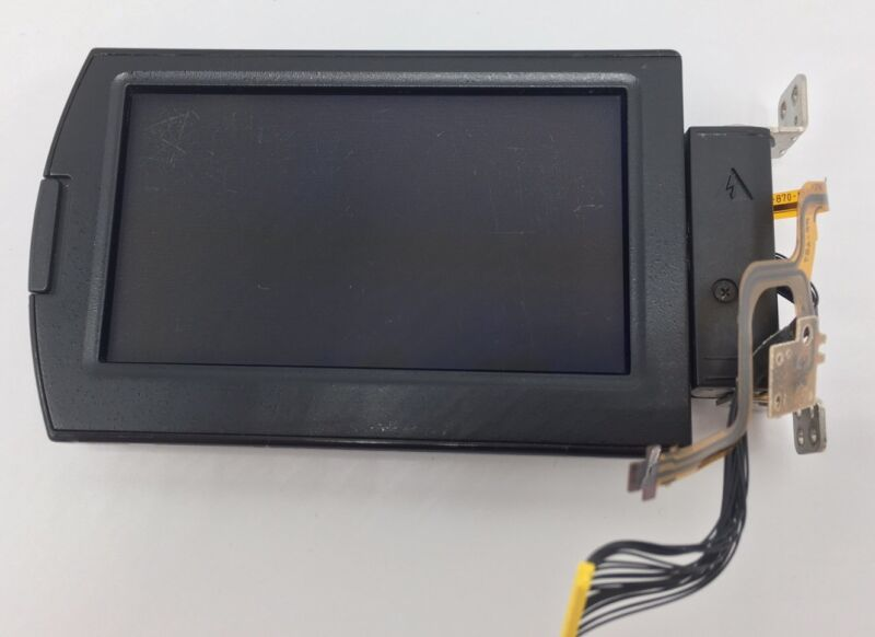 Sony HDR-FX7 FX7 Part LCD With Electronics And Cabinets Works Used PLEASE READ