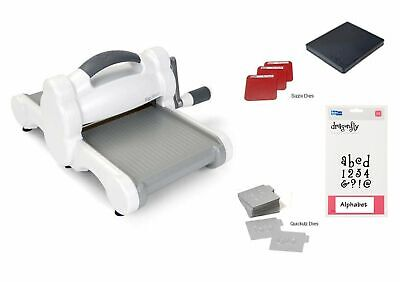 New SIZZIX BIG SHOT DIE CUT & Embossing MACHINE Starter KIT Bundle w 23 DIES for sale  Shipping to Nigeria