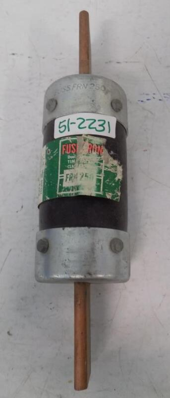 FUSETRON 250A DUAL ELEMENT TIME DELAY FUSE FRN 250