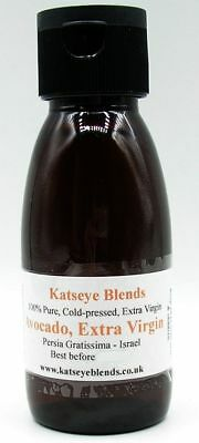 Avocado Oil Extra Virgin x 100ml Therapeutic Grade 100% Pure - Extra Virgin Avocado