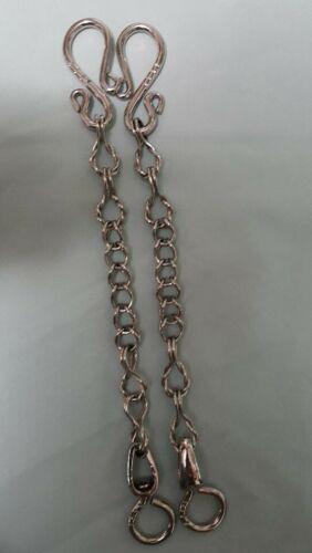 "Rein Chains (bit, horse, bridle) #BBR-14  9""  Stainless Steel"