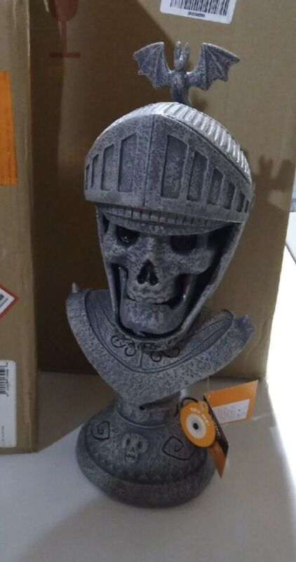 Hyde & Eek Halloween Animated Talking Knight Motion Activated Battery Operated