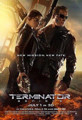"The Terminator movie poster - Terminator Genisys poster (e)  11"" x 17"""