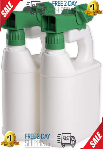 Refillable Sprayers & Accessories Multipurpose Hose-End 32oz (Pack Of 2) Garden