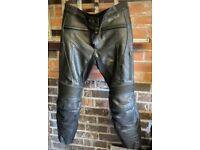 Weise Aqua - Leather Motorcycle Trousers.