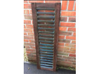 Cast iron bench back or plant climber