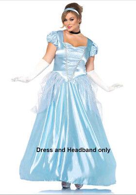 Leg Avenue Classic Cinderella Costume LA85518x Plus Size 1x/2x