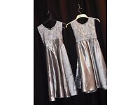 Silver Party/Evening Dresses for Girtls - Zee.H.M Fashion