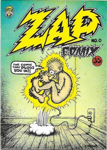 Zap Comix #0, 2nd printing Apex Novelties 1968, R. Crumb,  NM