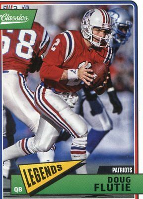 2018 Panini Classics Legends Patriots Doug Flutie No  164