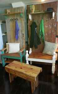 Rustic Hall Benches - Various Sizes and Styles Peterborough Peterborough Area image 6