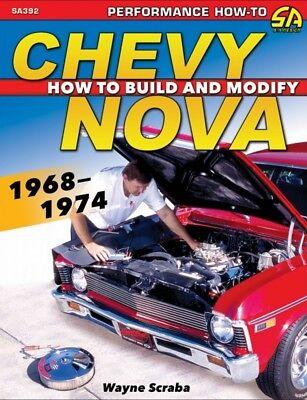 Chevy Nova 1968-1974 - How To Build & Modify  - Book SA392