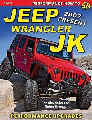 Jeep Wrangler JK Performance Upgrades 2007-Present - Book SA405