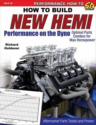 How To Build New Hemi Performance On The Dyno - Book SA418
