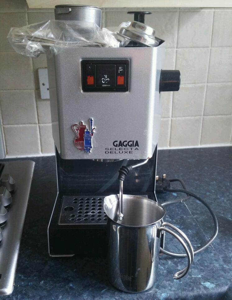 Coffee Machine Gaggia Select Deluxe In Brentry Bristol
