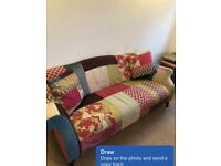 Dfs shout maxi patchwork sofa