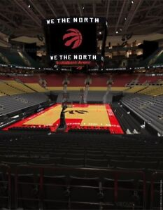 Season opener - Raptors vs Cavaliers - lower bowl