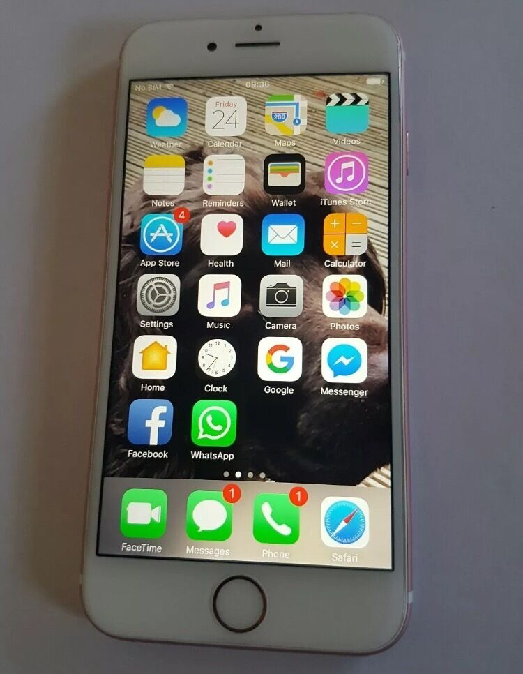 iPhone 6s Rose Gold 64GB Unlockedin Kingsbury, LondonGumtree - iPhone 6s Rose Gold 64 Unlocked its in very good condition except the only mark on the phone is in the corner(see picture 3) It comes with box and charger