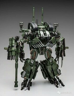 Transformer Toy Weijiang WJ Brawl Oversized OS Armed Cannon Tank Leader Class