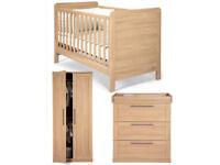 Mamas & Papas Nursery Furniture Set - 3 Piece - Rialto