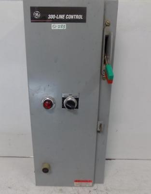 GENERAL ELECTRIC 300-LINE CONTROL ENCLOSED MAGNETIC STARTER CR308D1031AADTLJ