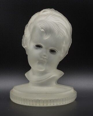 Used, VICTORIAN STYLE LE SMITH CREEPY BABY FACE BOOKEND BUST STATUE HOLLOW GHOSTLY EYE for sale  Rochester