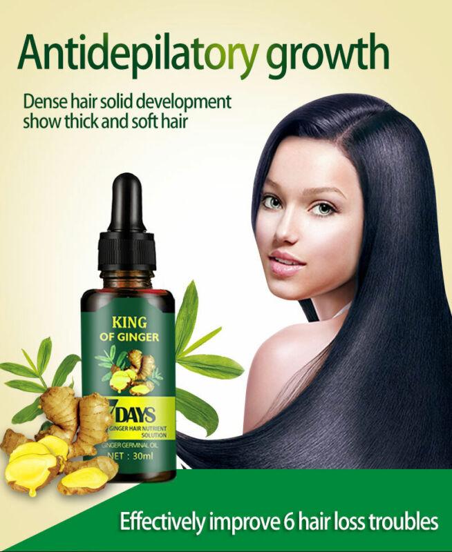 Regrow 7 Day Ginger Hair Germinal Hair Serum Loss Treatment Oil 30ML