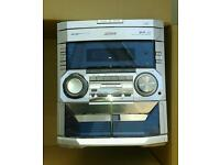Phillips three cd stereo player