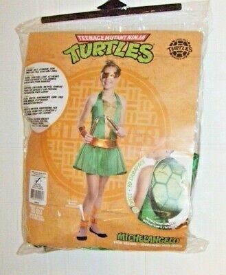 Ninja Turtles Girl Costumes (Teenage Mutant Ninja Turtles Girls Costume by Rubies - Michelangelo - Size:)