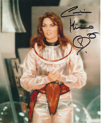 Caroline Munro In Person Signed Photo - Starcrash - AG196