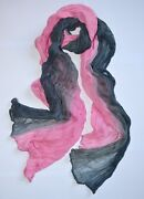 Soft Wrinkle Long Cotton Scarf