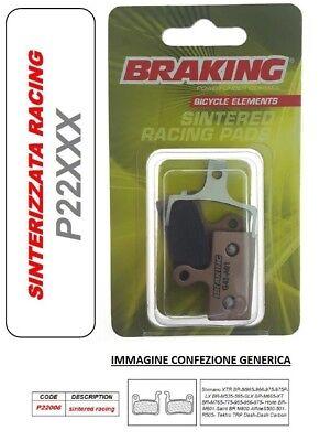BRAKING Pastilla de Freno Sinterizado Racing MTB Race Shimano XT BR-M765