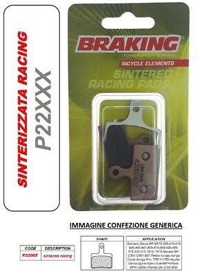 BRAKING Pastilla de Freno Sinterizado Racing Downhill Shimano Deore Br M395