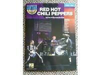 Red hot chilli peppers guitar tab book