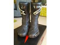 Alpinestar boots size 11