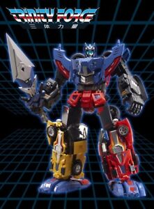 Third Party Transfomers TFC Toys TRINITY FORCE