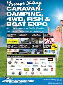 Caravan, Camping, 4WD, Fish & Boat Expo Heatherbrae Port Stephens Area Preview