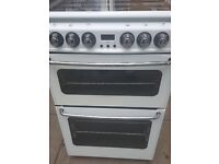 New World Double gas Cooker, 60 CM, LIKE NEW, A Rated Efficiency, RRP £400, NO OFFERS