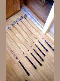 Set of Wilson x31 golf irons