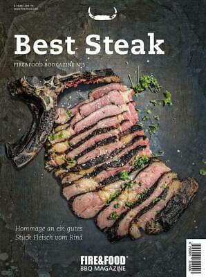 FIRE&FOOD Bookazine No.5 Best Steak Grillbuch Grillrezepte Steak grillen
