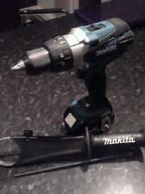 Makita 18v LXT cordless combi drill , body only