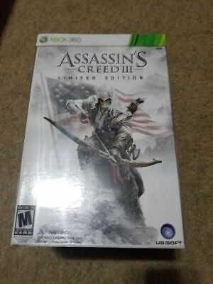 Used, Assassin's Creed III 3: Limited Edition (Xbox 360 2012) FACTORY SEALED! - RARE! for sale  Shipping to India