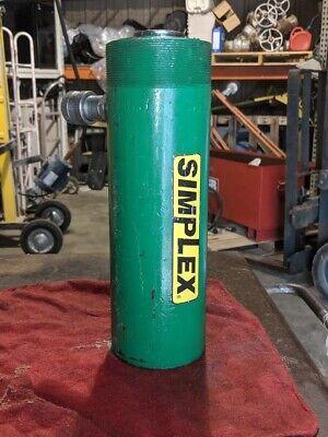 Simplex Double-acting Hydraulic Cylinder Ram Rcd307a 30 Ton 7 Inch Stroke