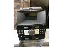 Astra h 59 plate cd30 MP3 CD player in piano black works 100% perfect 07594145438