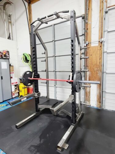 Body Masters Advanced Power Rack with Weight Storage