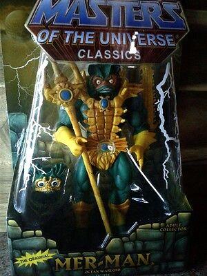 Masters of the Universe Classics: Mer-Man Action Figure New in Box   MOTUC MOTU